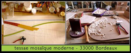 Tessae mosaïque moderne à Bordeaux