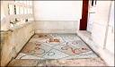 Tableau de sol en mosaïque