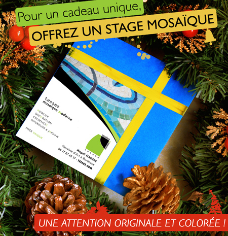 Stage mosaïque à Bordeaux