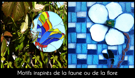 Stage mosaïque style Tiffany