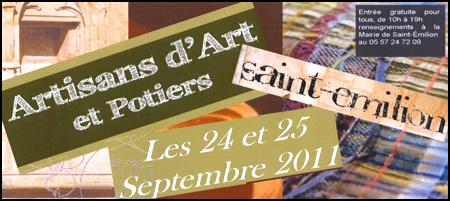 Artisanat d'Art et Potiers, Saint-émilion 2011