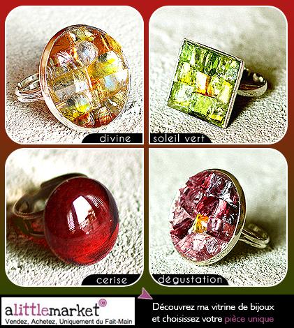 Bijoux mosaïques pour des cadeaux originaux