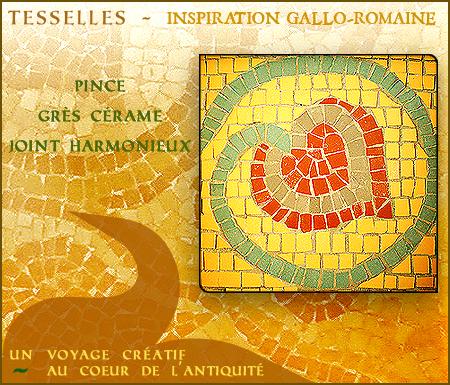 Stage mosaïque inspiration antique, Bordeaux